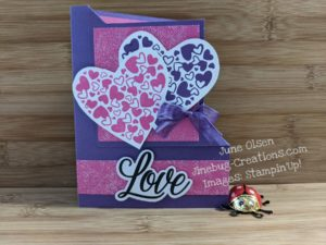 Junebug Creations Sending Hearts Paper Pumpkin kit Alternate