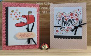 Junebug Creations Paper Pumpkin Sending Hearts kit