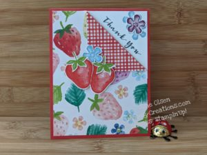 Junebug Creations GSF Blog Hop Berry Blessings DSP card