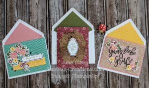 Junebug Creations February 2021 paper Pumpkin kit cards as designed