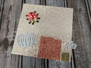 Using Stampin' Blends to color the bedazzled paper